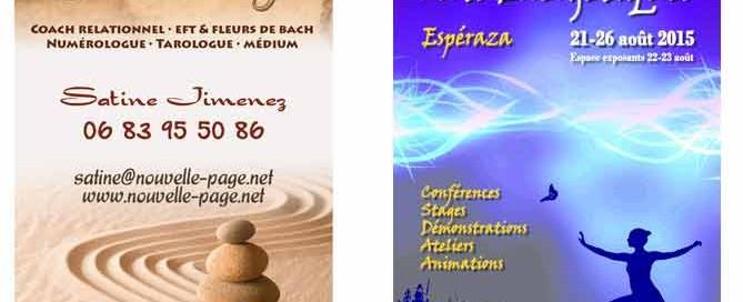 5ème Festival des Arts Energétiques à Espéraza (août 2015)