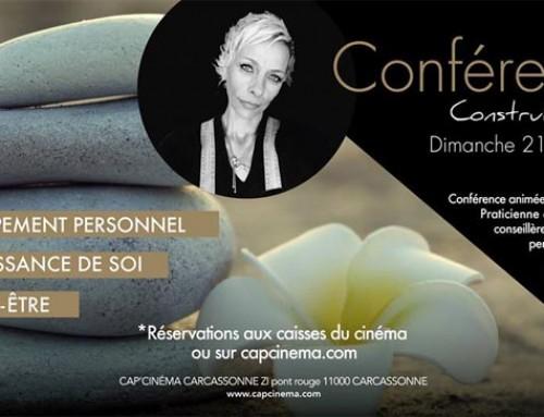 Conférence au CAP'CINÉMA de Carcassonne