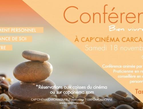 Conférence à CAP'CINÉMA Carcassonne