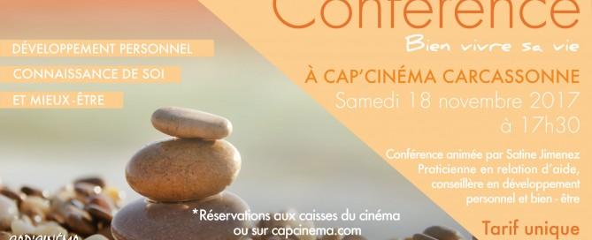 Conférence Cap Cinéma Novembre 2017