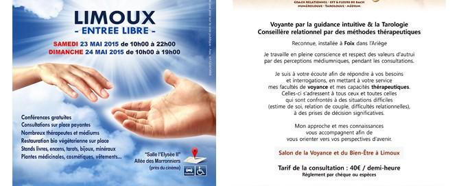 Salon de la Voyance Mai 2015 à Limoux